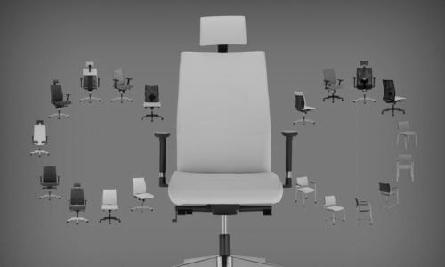 Fotele gabinetowe Intrata 30