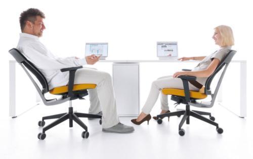 Fotele gabinetowe Xenon Net 06