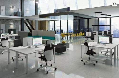 fotele pracownicze Dual 10